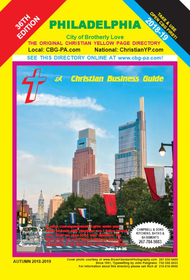 Philadelphia CBG Autumn 2018-2019