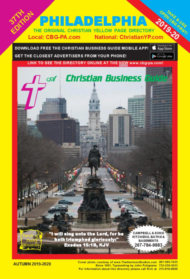 Christian Business Guide Philadelphia 2019-2020