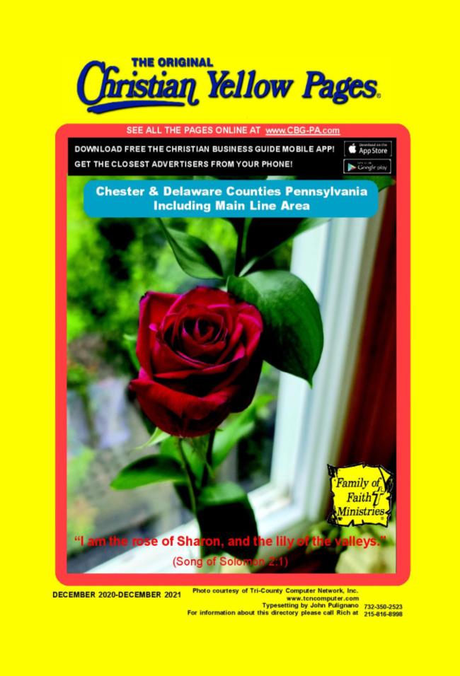 Chester and Delaware - Delco Book 2020