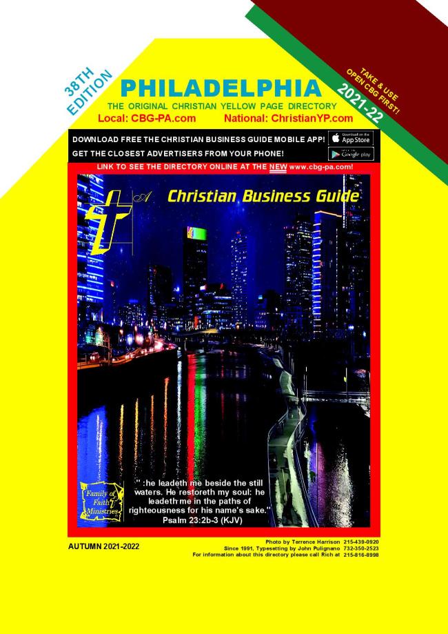 2021 Philadelphia Christian Business Guide